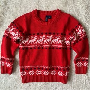 JANIE & JACK | Red Holiday Sweater